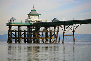 Clevedon pier near Bristol